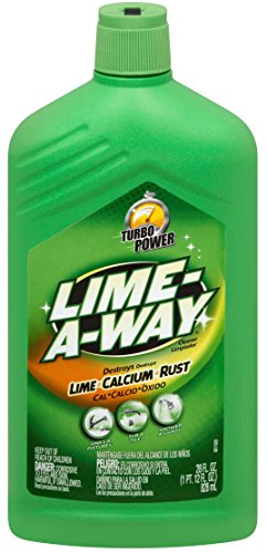 Lime-A-Way Lime, Calcium & Rust Cleaner 28 oz (Pack of 3)