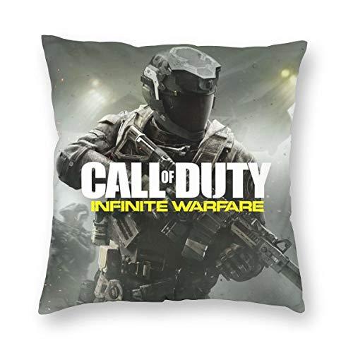 Infinite-Warfare Home Square Pillow Soft Throw Case Covers Set Cushion Hold Pillowcase
