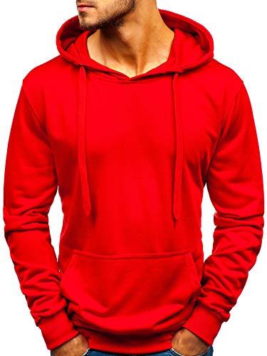 OZONEE Uomo con Cappuccio Pullover Felpa Maglione Hoodie Sweatjacke J Style dd99
