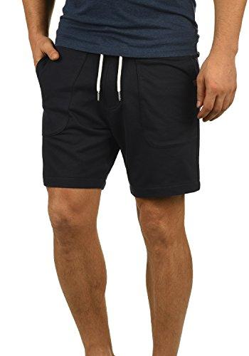 Blend Mulker Herren Sweatshorts Kurze Hose Jogginghose Mit Kordel Regular Fit, Größe:XL, Farbe:Black (70155)