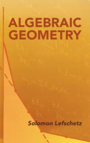 Algebraic Geometry (Dover Books on Mathematics) (English Edition)