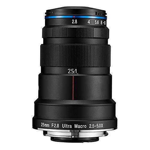 Venus Optics Laowa 25mm f/2.8 2.5-5X Ultra-Macro Lens for Canon EF Mount
