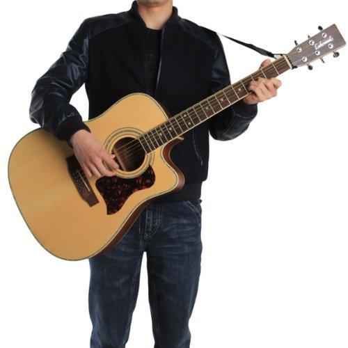 Correa Bandolera Ajustable de Guitarra Acústica Eléctrica 132x6cm ...