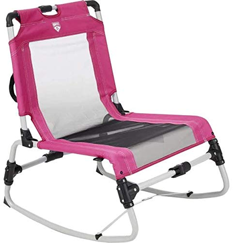 Quest Collapsible Low Rock Chair (Very Berry)