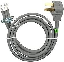 Whirlpool 8171385RC 4-Feet 40-Amp 3 Wire Range Power Cord