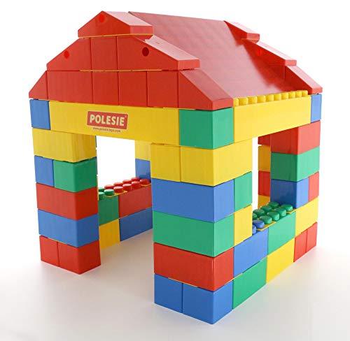 Polesie 37473 Haus aus XXL Bausteine, 134-tlg