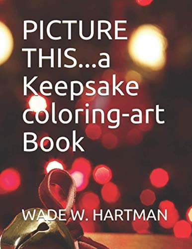 PICTURE THIS a Keepsake coloring art Book product image