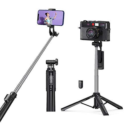 Palo Selfie Trípode, Mpow 4 en 1 Selfie Stick Bluetooth con Control...