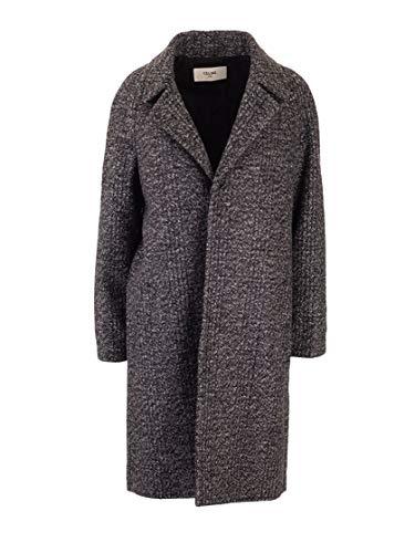 Céline Luxury Fashion Damen 2M221730E09ME Grau Mantel | Herbst Winter 19
