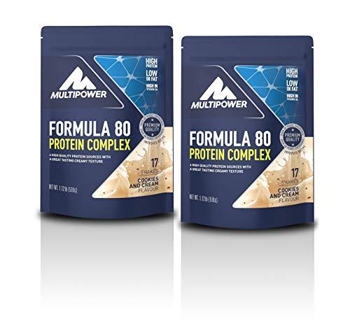 Multipower Formula 80 Evolution 2 x 510g 2er Pack Beutel Cookies