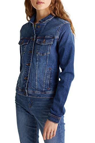 edc by Esprit 999CC1G802 Jacke, Damen, Blau S
