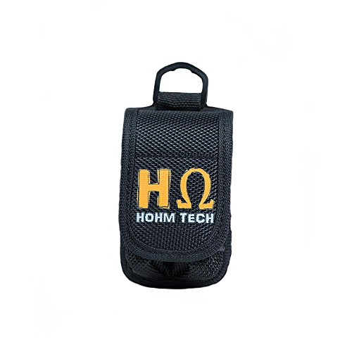 Hohm Security Battery Carrier Specially Form Fitted for 18650, 20700, 21700 li-ion Batteries (2-Bay)