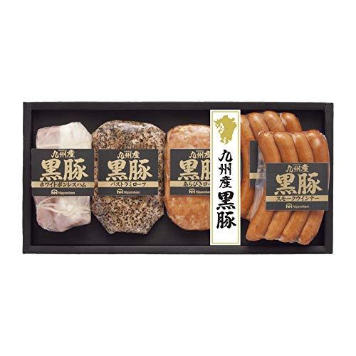 日本ハム 九州産 黒豚ギフト NO-40 【お肉 詰め合わせ ギフトセット おいしい お中元 お歳暮 贈り物】