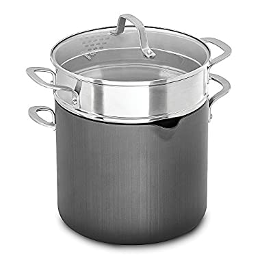 Calphalon 1932446 Classic Nonstick Stock Pot, 8 quart, Grey