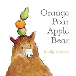 Orange Pear Apple Bear Book for Kids