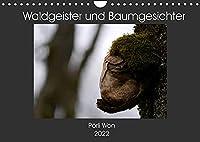Waldgeister und Baumgesichter (Wandkalender 2022 DIN A4 quer): Gut versteckt in der Natur warten skurrile Lebewesen darauf entdeckt zu werden. (Monatskalender, 14 Seiten )
