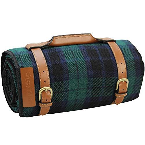 HappyPicnic - Manta de picnic extragrande | Ourdoor Handy Mat | Alfombra de picnic de estilo inglés | Manta impermeable para césped | Manta portátil para interiores