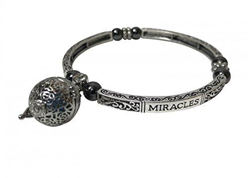 Armband 'MIRACLES' met magneten en geurhanger