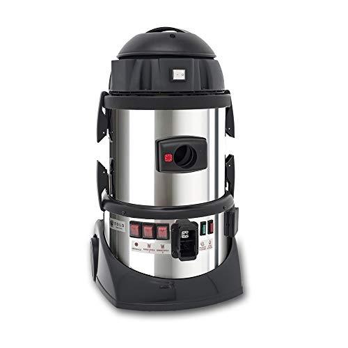 EOLO LP05RA Dampfsauger Kombigerät mit beutellosem Staubsauger und Dampfreiniger mit Auto-Refill und Behälter für Zusatzwasser und Reinigungsmittel