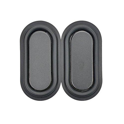 "AOSHIKE 2pcs 40x80mm/1.57x3.15"" DIY Bass Speaker Woofer Loudspeaker Vibrating membrane/plate vibrator radiator speakers Woofer Diaphragm Plate"