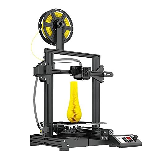 Voxelab Aquila 3D Printer,Fully Metal Frame,DIY FDM 3D Printer Kit with Removable Carborundum Glass Platform,Fully Open Source Design and Resume Printing Function Build Volume 220x220x250mm
