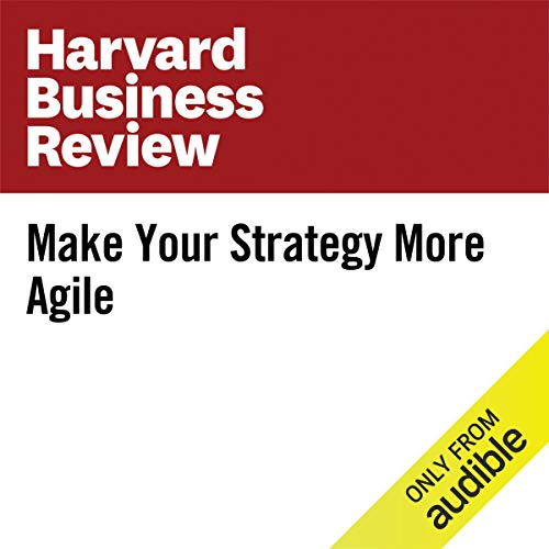 Make Your Strategy More Agile copertina