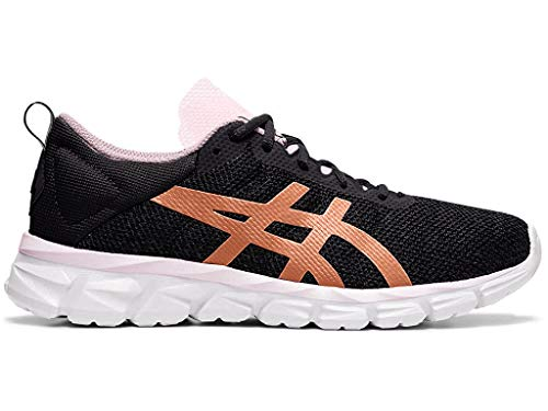 ASICS Womens Gel-Quantum Lyte Running Shoes, Black/Rose Gold, Size 8.5