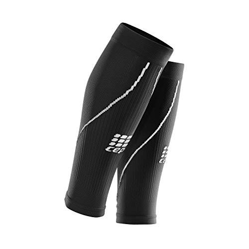 CEP - CALF SLEEVE 2.0 | Beinstulpen für Damen in schwarz | Größe II | Beinlinge für exakte Wadenkompression