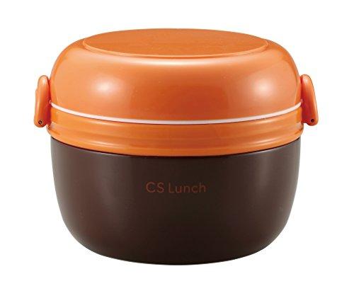 Parukinzoku voedselpot 420ml Bruin warmte-isolatie lunch doos pot CS lunch UE-3363