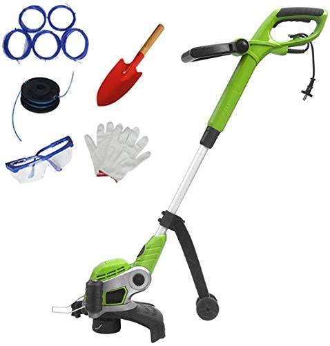 Find Bargain REWD String Trimmers Grass Trimmer for Home, Support Wheels and Simple Grass Cut Line T...