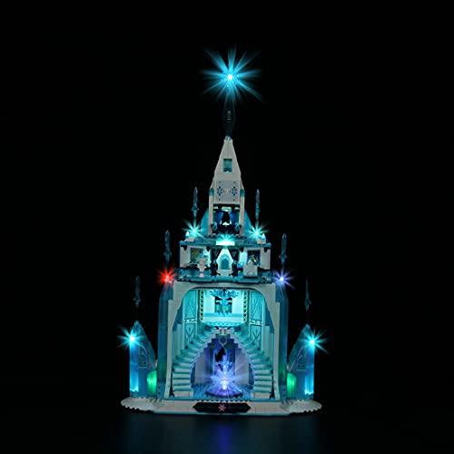 xSuper Juego de iluminación LED para Lego 43197 The Ice Castle Frozen, juego de luces de iluminación LED, compatible con Lego 43197 (no incluye modelo Lego)