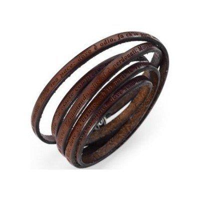 Amen bracciale unisex gioielli San Francesco misura 100 casual cod. MY-SF05-100