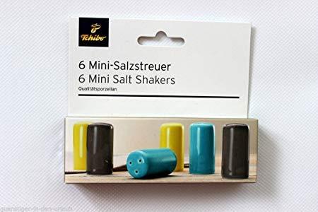 Tchibo TCM 6 Mini Salzstreuer aus Qualitätsporzellan Tischdeko
