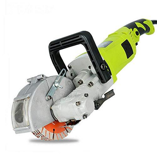 Fresadora eléctrica de 4000 W + 5 hojas de sierra de 125 mm (7500R/min, profundidad de corte: 33 mm)
