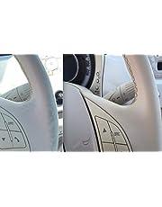 Colourcare24 kit FIAT 500 mafil - Kit de restauración cuero de fácil aplicación usura de volantes e pepita y otros articulos de piel, renovación de color mafil blanco descolorado 30 ml