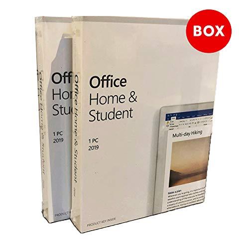 Office 2019 Home & Student   Versiegelte Box   Offiziell Lizenz   Ohne Ablauf   Windows (Nein macOS)