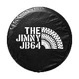 ジムニー スペアタイヤカバー デザインI (THE JIMNY JB64) 16インチ 純正サイズ 175/80R16 背面 スペアタイヤ用 保護カバー JB64W