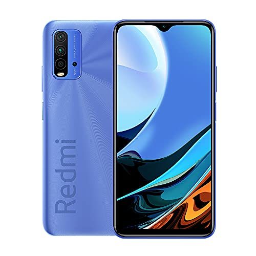 Xiaomi Redmi 9T - Smartphone 4+64GB, 6.5' FHD+ Dot Drop Display, Dual Sim, 6000mAh, azul crepúsculo