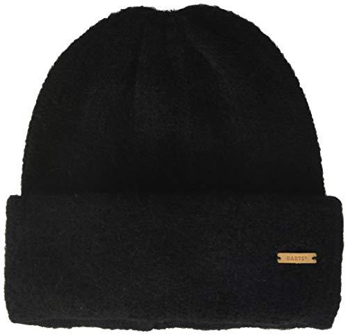 Barts Damen River Rush Beanie Baskenmütze, Schwarz (Black 0001), One Size (Herstellergröße: Uni)