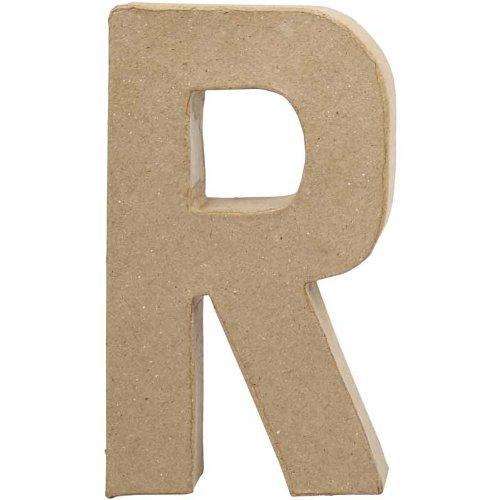 Creativ 20.5 cm 1-Piece Papier Mache Letter R