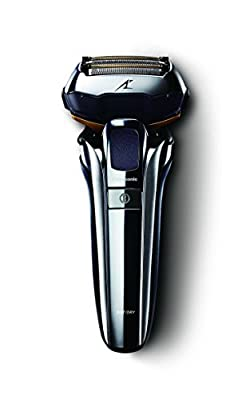 Panasonic ES-LV9Q Wet & Dry Electric 5-Blade Shaver with Cleaning & Charging Stand from Panasonic