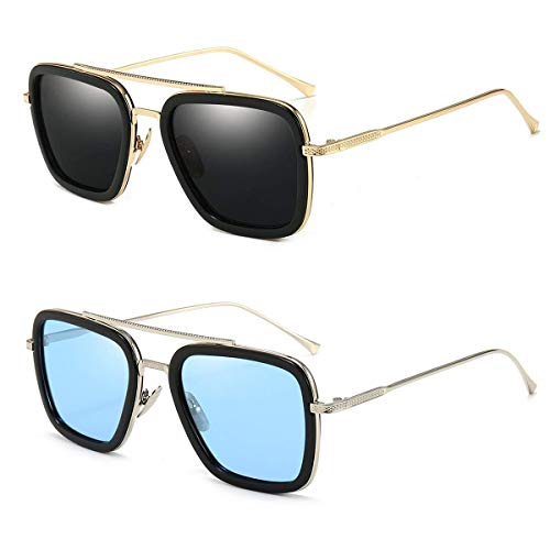 Dollger Tony Stark Glasses for Men and Women
