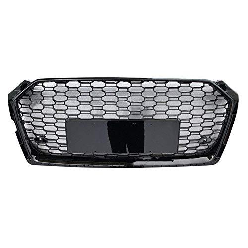 Xinshuo Griglia anteriore in ABS con griglia a nido d'ape per RS5 Style A5 / S5 2017-2019
