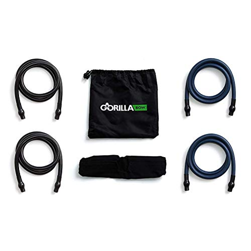 Gorilla Fitness Resistance Bands for Gorilla Bow (Heavy Set)