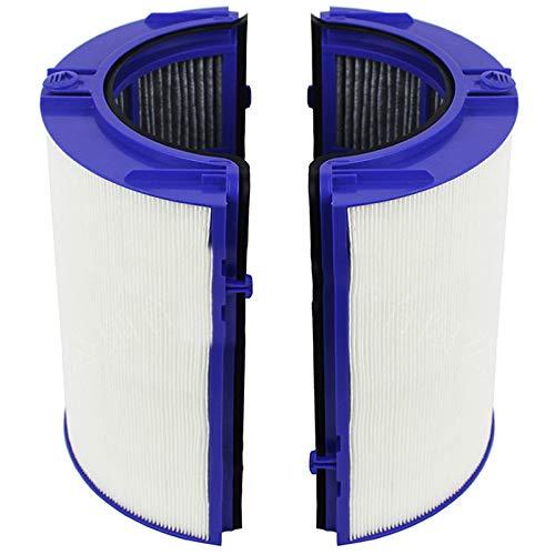 Kamenda Filtro 2PCS para PH02 TP06 HP06 Kit de Purificador de Aire de Ventilador de Torre Purificadora Pura y Fresca Accesorios