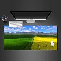 ゲーミングマウスパッド, ゲームマウスマット、大型マウスマット美しい牧歌的な風景x900x400mmラップトップ、コンピューター、PCのパーソナライズされたデザインの快適なマウスパッド (Size : 800*300*3mm)
