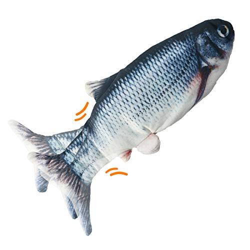 O-Kinee Juguete Hierba Gatera,Catnip Fish Toys,Juguete Interactivo,Catnip Fish Toys,pez Interactiva Mascota para Masticar Mascotas Flop de Gato/Gatito Gato de Juguete Juguetes (Carassius auratus)