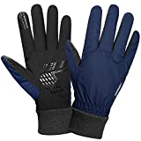 Anqier Winter Gloves for Men Women Waterproof Ski Gloves Thermal Gloves 3M Thinsulate Snow Snowboard Cold Weather Gloves