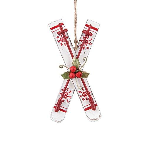 C&F Nordic Ski Ornament
