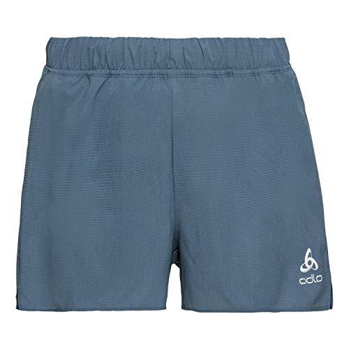 Odlo Short Millennium Pantalon de Sport pour Homme L Bleu (China Blue)
